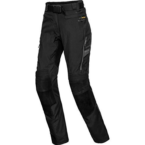 FLM Motorradhose Touren Damen Leder-Textilhose 4.0 anthrazit XXL, Tourer, Ganzjährig