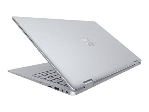 TREKSTOR PRIMEBOOK C13 LTE / Volks-Laptop, 33,8 cm (13,3 Zoll) Convertible Laptop (Intel Celeron N3350, 64GB interner Speicher, 4GB RAM, Win 10 Home, QWERTZ Tastatur)