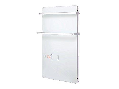 PURLINE ZAFIR V2000T W Toallero Calefactor eléctrico Digital de Cristal Templado Blanco...
