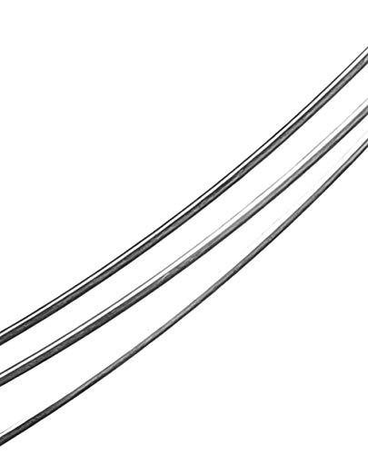 uGems Sterling Silver Wire Soft Round 5 feet (18 ga)