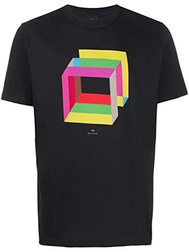 Paul Smith Luxury Fashion Uomo M2R011RAP199779 Nero Cotone T-Shirt | Primavera-Estate 20