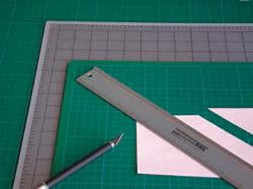 Tappetino da taglio graduato Artool 30X45 cm (Semi-trasparente)