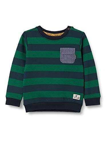 Noppies Baby-Jungen B Sweater LS Oviston STR Sweatshirt, Dark Sapphire-P208, 62