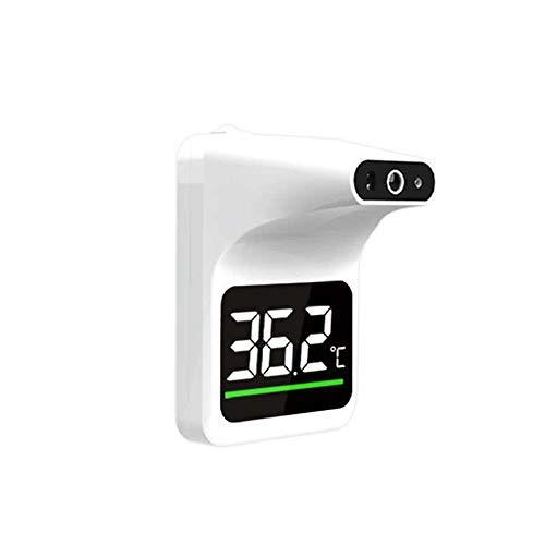 Covermason Kontaktlos Fieber-Thermo Meter Digital Stirnthermo-Meter Temperaturmessung für Tür Wand Home Supermarkt Schule Büro (B)