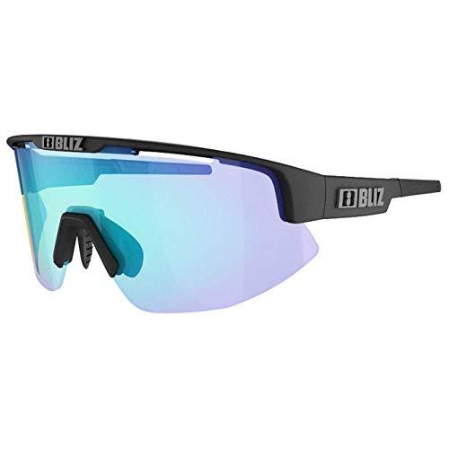 Bliz Matrix Nordic Light Sportbrille, matt Black/orange Blue