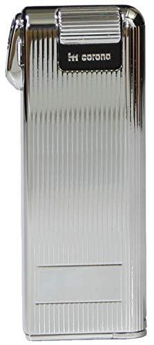 IM Corona Pipemaster Pfeifen Feuerzeug Piezo Klassiker Streifen Edelstahl Made in Japan Pfeife