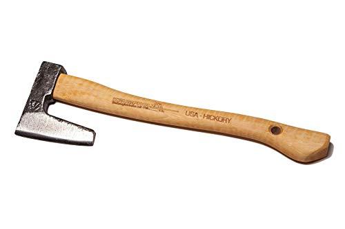 Unbekannt Krumpholz, Gartenbeil mit Hickory-Kuhfuß-Stiel