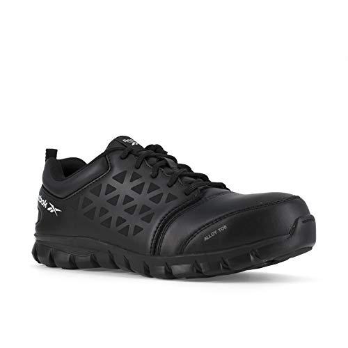 Reebok Work Sublite - Zapatos de trabajo atléticos con punta de seguridad para hombre, negro (Negro), 44 EU