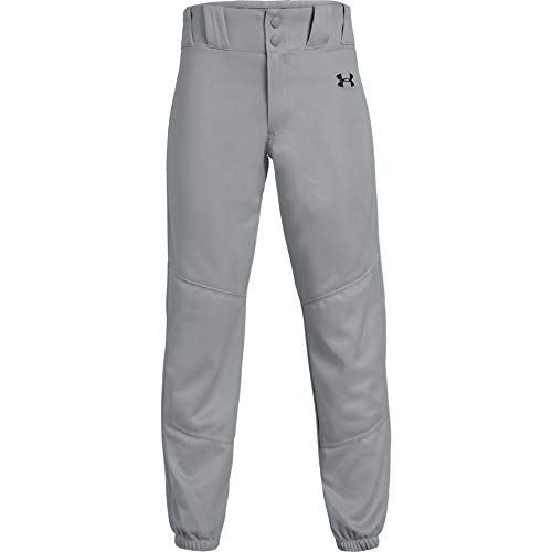 Under Armour Jungen Utility Relaxed Pants Closed Hose, Baseball Grau (080)/Schwarz, Youth L