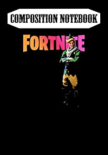 Composition Notebook: code name e.l.f Fortnite , Journal 6 x 9, 100 Page Blank Lined Paperback Journal/Notebook
