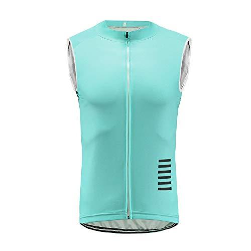 UGLY FROG Maillot Ciclismo Hombre Camiseta Ciclismo Manga Sin Mangas Ropa Ciclista para Bicicleta de montaña DXMH02