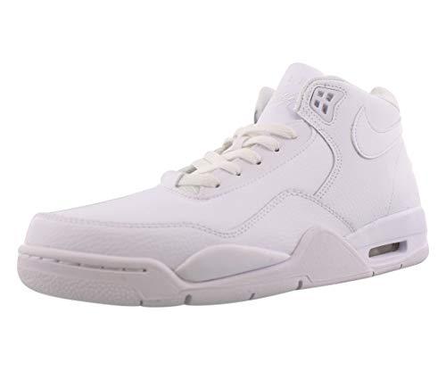 Nike FLIGHT LEGACY - MENS, White/White-white, 12
