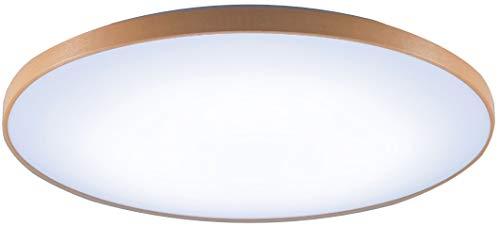 パナソニック LEDシーリングライト 調光・調色タイプ リモコン付 ~12畳 ミディアムブラウン仕上 HH-CE1219AH