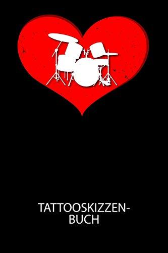 Tattooskizzenbuch: Halte deine Ideen für Motive für dein nächstes Tattoo fest und baue dir ein ganzes Portfolio voller Designideen auf!