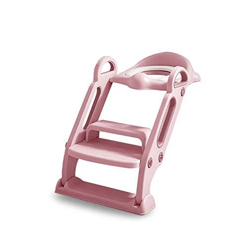 ZOOTUI® Adaptador WC Niños Plegable,Adaptador WC para Niños con Escalera Antideslizante, Altura...