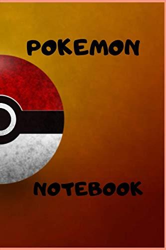 Pokemon Notebook  Pokemon lovers: Pokemon Go, Notebook For Kids, Journal, Diary 6*9 INCHES 1001 p