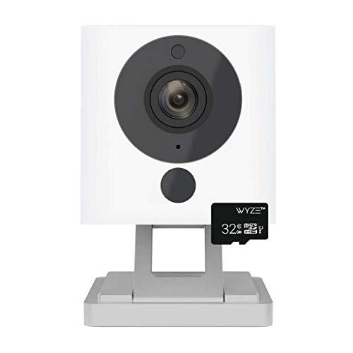 Wyze Smart Home Camera 1080p HD Wi-Fi Audio Recording,Built-in Speaker White