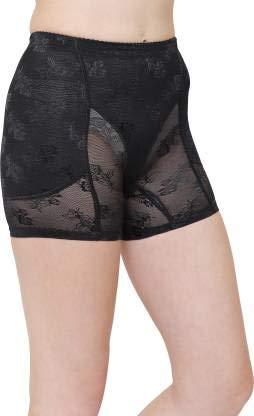 Brachy Women's Butt Lifter Padded Panty Shorts Butt Hip Enhancer Butt Shaper!! Washable BCA_PDDBOYSHORT01D_Large_Black