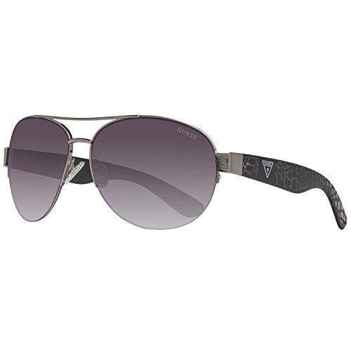 Guess Sonnenbrille GF0288 6406B Gafas de sol, Plateado (Silber), 64 para Mujer
