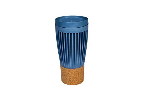 SP Berner Mug Cafe   Vaso con Tapa para Llevar, Taza Reutilizable-Color Azul, Talla única