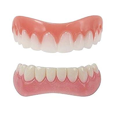 Cosmetic Veneers Snap on Smile Teeth,Kardition Veneers with[Easy to Set][Natural Shade],Snap Veneers Teeth for Women Man
