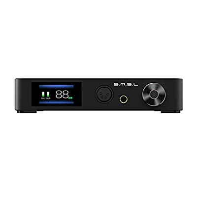 S.M.S.L SP400 Headphone Amplifier, Full Balanced THX AAA-888, 6.5mm SE Out XLR RCA by Smsl