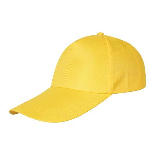 kyprx Erwachsenenkappe gelb verstellbar