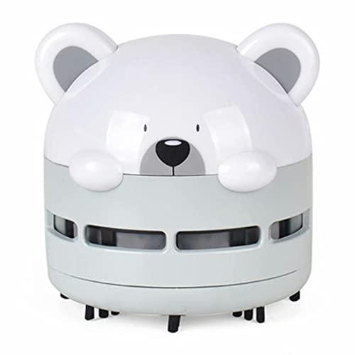 SJZD Aspirapolvere da Tavolo Portatile USB Mini Aspirapolvere Creativo Cute Puppy Aspirapolvere Luminoso Adatto per la Tastiera della casa dell auto dell ufficio