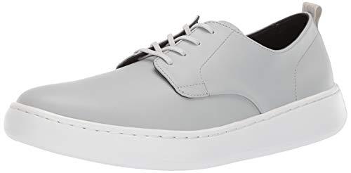 Calvin Klein Men's FIFE Sneaker, Blue Grey Smooth Calf Leather, 11.5 M US