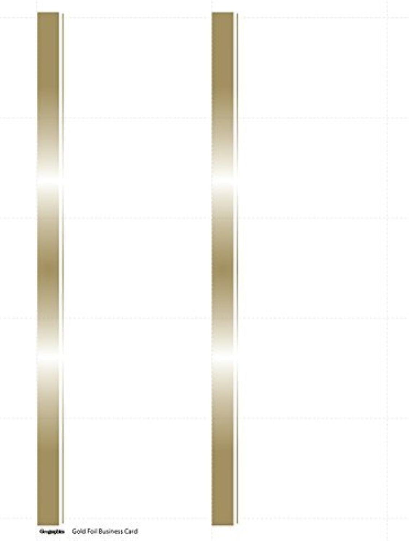 Geographics Century Century Century Weiß Gold Foil Business Cards, 2 x 3.5 Inches, Weiß Gold Foil, 150-Sheet Pack (48433) by Geographics B00PSK8FJK   Kostengünstig    Neuer Stil    Hervorragende Eigenschaften  017684
