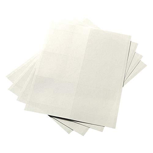 AmazonBasics – Insertos de insignia de nombre, impresión o escritura, 3 x 4 pulgadas, 300...