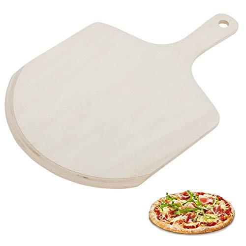 Westmark Pizzaschieber/-schaufel, Holz, 45,5 x 29,5 x 0,8 cm, Hellbraun, 32442270