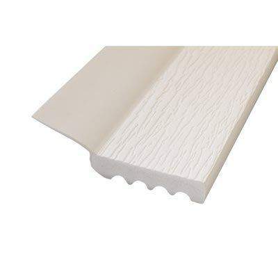 7-Foot Vinyl Uniflex Vinyl Garage Seal for Top and Sides (Bright White)