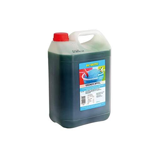 Sirup Slush Konzentrat Slush Ice / Slush AZO FREI Eis Grüner Apfel 5 Liter Ergibt 30 Liter Slush