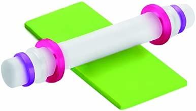 Ibili 硅胶/尼龙可调节滚针,紫色/白色/粉色,35 厘米