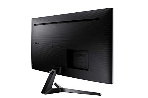 Samsung LS34J550WQU 34.1 inch (86 cm) Flat Computer Monitor with LED Display in 4K Ultra HD, 3440 x 1440 Pixels, Response Time: 4 ms, Colour: Black