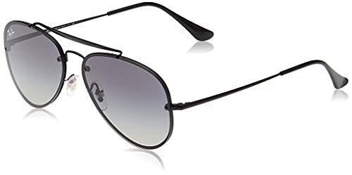 Ray-Ban 0Rb3584N, Gafas de Sol Unisex adulto, Negro (Demi Glos Black), 58