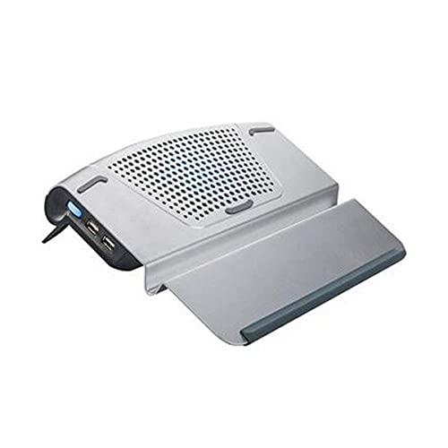 YWYW Enfriador para portátil, radiador de Placa Base de Ventilador de Escape de 14 Pulgadas, Placa de Soporte de Aluminio Refrigeración por Aire Refrigeración Estable silenciosa/Se Pueden utili