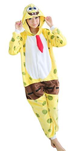 FunnyCos - Pijama unisex con capucha para Halloween, disfraz de Halloween