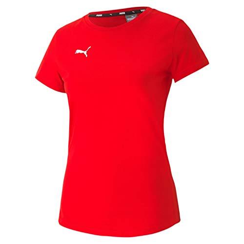 PUMA Damen teamGOAL 23 Casuals Tee W T-shirt, Red, M