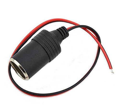 YYOMXXOM Universal Car Styling Car Auto Caimigador Clip 12V DC Cigarette Encendedor Adaptador de zócalo con la Caja de fusibles Terminal Múltiples Opciones (Color Name : 30cm)