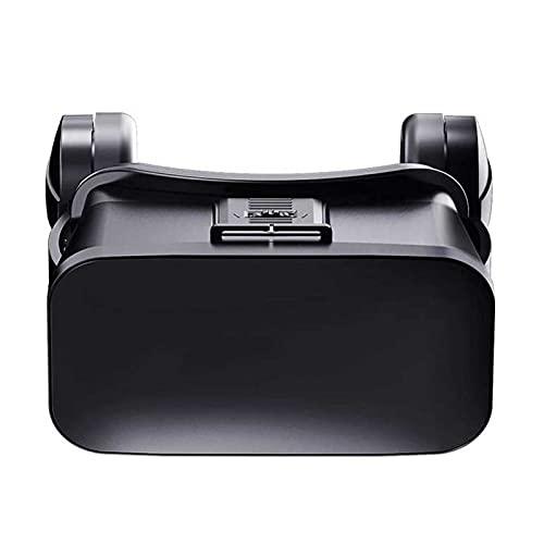 Adesign Auricular VR con Auriculares de Realidad Virtual de Control Remoto para iOS y Android 4.5-6.0 Pulgadas Reproduce Tus Mejores películas de Juegos móviles con Soft-Android Smartphone y cómodo