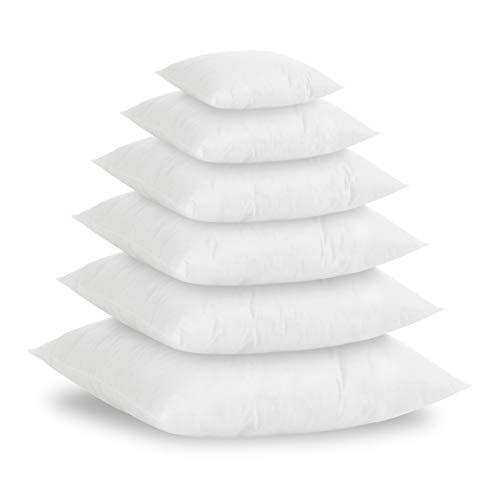 Textilhome - Pack 2 Relleno de Cojín 50x70cm / Poliéster 100% - Fibra Hueca siriconada de Gran Densidad.