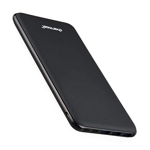 Charmast 26800mAh モバイルバッテリー 大容量 薄型 4出力ポート 3入力ポート 最大5V/3A出力 急速充電 iSma...