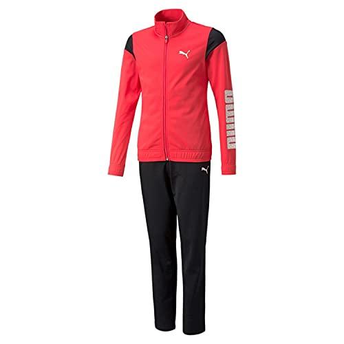 PUMA 4063699326475 Tricot Suit op G Tuta Sportiva, Paradise Pink, 116