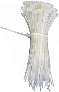 Plastic drawstring bag 100 pcs - 25 CM - White