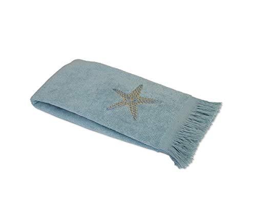 Avanti Linens By The Sea Fingertip Towel, Mineral