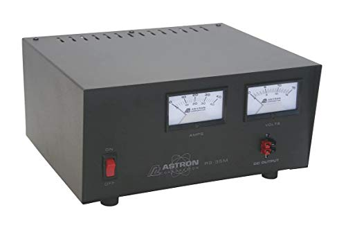 Astron RS-35M-AP Desktop 13.8VDC Linear Power Supply with Meters and Anderson Power Poles, 35A Peak, 25A Continuous. Buy it now for 275.99