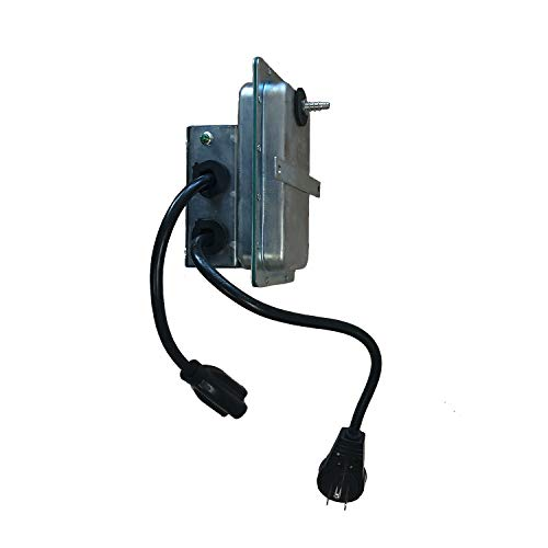 Tjernlund PS1503P Plug-in Air Pressure Activation Switch for Duct Fans in Central Heating and Air Conditioning Systems
