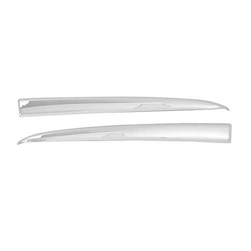 FANGPING Fang-Ping Ajuste para Mazda 2 Demio 2015-18 DJ DL DL MAZDA2 Tiras de la Parrilla Delantera (Color : Silver)